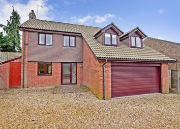 Thumbnail 5 bed detached house to rent in The Links, Whitehill, Bordon