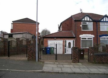 Thumbnail 3 bed semi-detached house to rent in Eastleigh Road, Prestwich, Prestwich Manchester