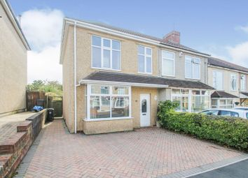Thumbnail 3 bed semi-detached house for sale in Talbot Avenue, Kingswood