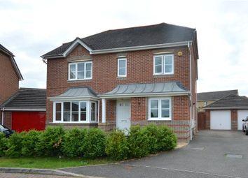 Thumbnail 4 bedroom detached house for sale in Chippenham Close, Basingstoke, Hampshire