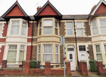 Thumbnail 4 bed terraced house for sale in Pentre Street, Cardiff
