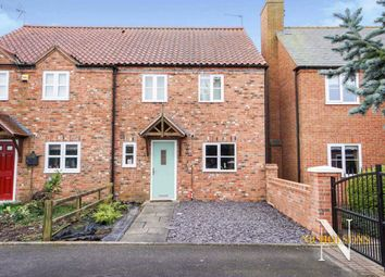 Thumbnail 3 bed semi-detached house for sale in Homefield Close, East Drayton, Nottinghamshire