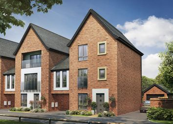 "Thumbnail 4 bed town house for sale in ""The Beech "" at Berrington Road, Off London Road, Hampton"