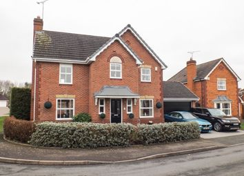 Thumbnail 4 bed detached house for sale in Dockeray Avenue, Warndon, Worcester