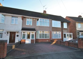 Thumbnail 3 bed terraced house for sale in Macaulay Road, Coventry