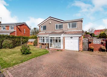 Thumbnail 4 bed detached house for sale in Oakfield Close, East Herrington, Sunderland