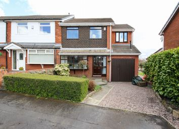 Thumbnail 4 bed semi-detached house for sale in Barnfield Close, Egerton, Bolton