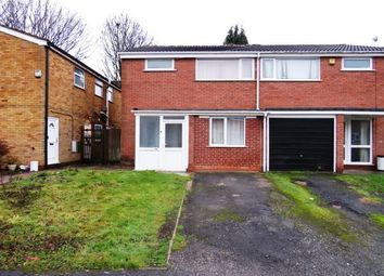 Thumbnail 3 bedroom property to rent in Wellman Croft, Birmingham