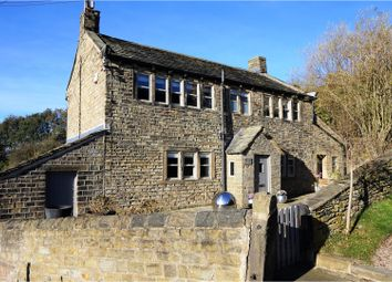 Thumbnail 3 bed detached house for sale in Near Bank, Shelley, Huddersfield