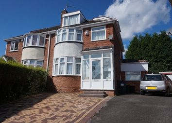 Thumbnail 5 bed semi-detached house for sale in Romilly Close, Walmley, Sutton Coldfield