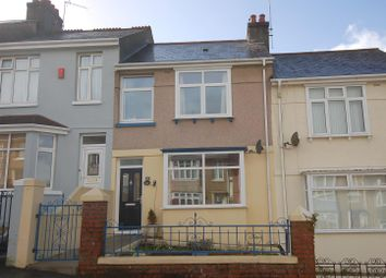 Thumbnail 3 bedroom terraced house for sale in Sturdee Road, Plymouth