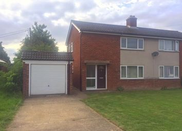 Thumbnail 2 bedroom semi-detached house for sale in Vicarage Close, Swaffham Bulbeck, Cambridge