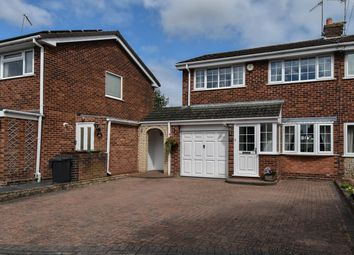 Thumbnail 3 bed semi-detached house for sale in Belvedere Drive, Bromsgrove