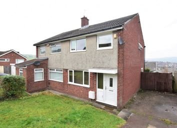 Thumbnail 3 bed semi-detached house for sale in Caernarvon Court, Caerphilly