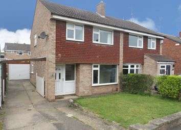 Thumbnail 3 bedroom semi-detached house for sale in Rigsby Court, Mickleover, Derby
