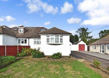 Thumbnail 3 bed semi-detached bungalow for sale in Festival Avenue, Longfield, Kent