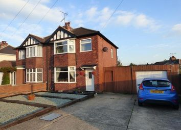 Thumbnail 3 bed semi-detached house for sale in Titchfield Avenue, Mansfield Woodhouse, Mansfield, Nottinghamshire