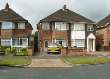Thumbnail 3 bed semi-detached house for sale in Bucklands End Lane, Hodge Hill, Birmingham