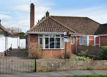 Thumbnail 2 bed semi-detached bungalow for sale in Old Manor Road, Rustington, Littlehampton
