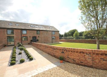 Thumbnail 4 bed barn conversion for sale in Yatehouse Lane, Byley, Middlewich