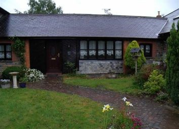 Thumbnail 1 bedroom semi-detached bungalow to rent in Manor Road, Barnstaple, Devon
