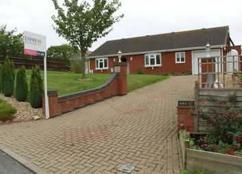 Thumbnail 3 bed detached bungalow for sale in Monson Road, Northorpe, Gainsborough, Lincolnshire