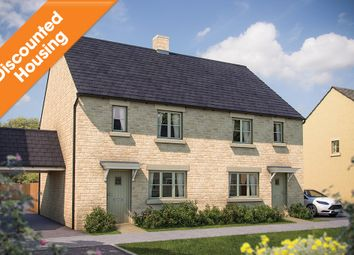 """Thumbnail 3 bed semi-detached house for sale in """"The Dorn"""" at Todenham Road, Moreton-In-Marsh"""
