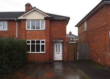 Thumbnail 3 bedroom end terrace house for sale in Dorlcote Road, Alum Rock, Birmingham, West Midlands