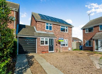 Thumbnail 4 bed detached house for sale in Hawthorn Way, Sawtry, Huntingdon