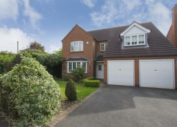 Thumbnail 4 bed detached house for sale in Bars Hill, Costock, Loughborough