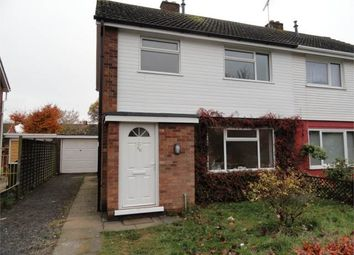 Thumbnail 3 bedroom semi-detached house to rent in Atherstone Avenue, Netherton, Peterborough