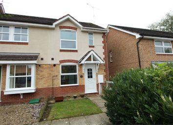 Thumbnail 2 bed end terrace house for sale in Attlee Close, Lutterworth