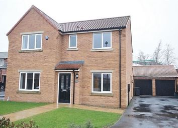 Thumbnail 4 bed detached house to rent in Field View, South Milford, Leeds
