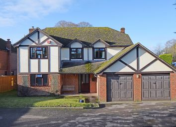 Thumbnail 4 bed detached house for sale in Oxford Road, Chieveley, Newbury