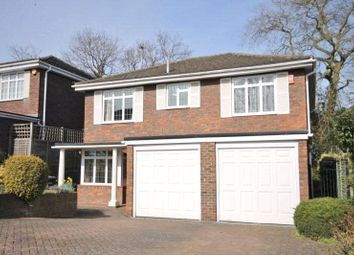 Thumbnail 5 bed detached house for sale in Lodge Close, Englefield Green, Surrey