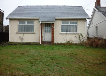 Thumbnail 2 bed bungalow to rent in Penygraig Road, Cwmllynfell, Swansea