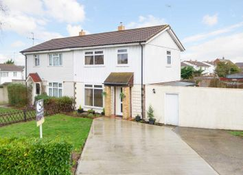Thumbnail 3 bedroom semi-detached house for sale in Dickens Avenue, Canterbury