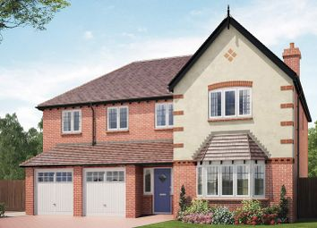 Thumbnail 5 bed detached house for sale in Royal Park, The Long Shoot, Nuneaton