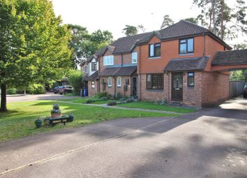 Thumbnail 3 bedroom end terrace house for sale in Sian Close, Church Crookham, Fleet