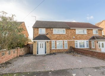 Thumbnail 4 bed semi-detached house for sale in Stanborough Avenue, Borehamwood, Hertfordshire