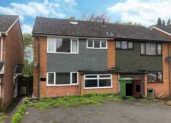 Thumbnail 4 bed semi-detached house to rent in Dunstall Avenue, Wolverhampton