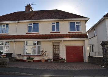Thumbnail 4 bed semi-detached house for sale in Clinton Road, Barnstaple