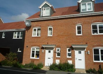 Thumbnail 4 bed town house to rent in Bostock Road, Chichester
