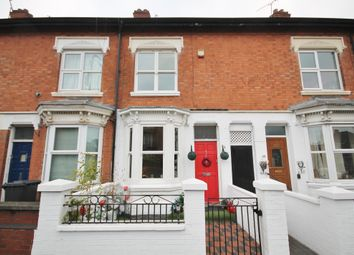 Thumbnail 3 bed terraced house for sale in Fosse Road North, Newfoundpool, Leicester