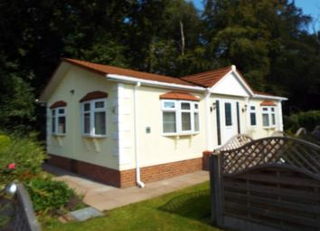 Thumbnail 2 bed mobile/park home for sale in Oak Tree Farm, Juggins Lane, Earlswood