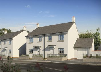 "Thumbnail 3 bedroom end terrace house for sale in ""The Cothi"" at Darcy Business Park, Llandarcy, Neath"
