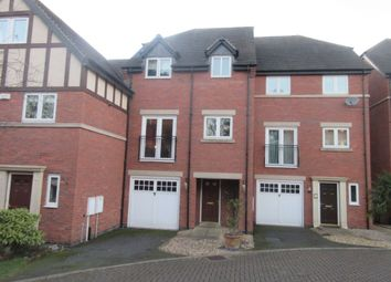 Thumbnail 4 bed town house for sale in Oliver Close, Syston