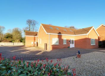 Thumbnail 4 bed detached bungalow for sale in Station Road, Hibaldstow, Brigg
