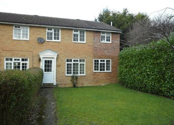 Thumbnail 3 bed end terrace house to rent in Ramsdell Close, Tadley