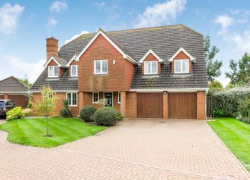 Thumbnail 5 bed detached house for sale in Prestwick Road, Great Denham, Bedford, Bedfordshire